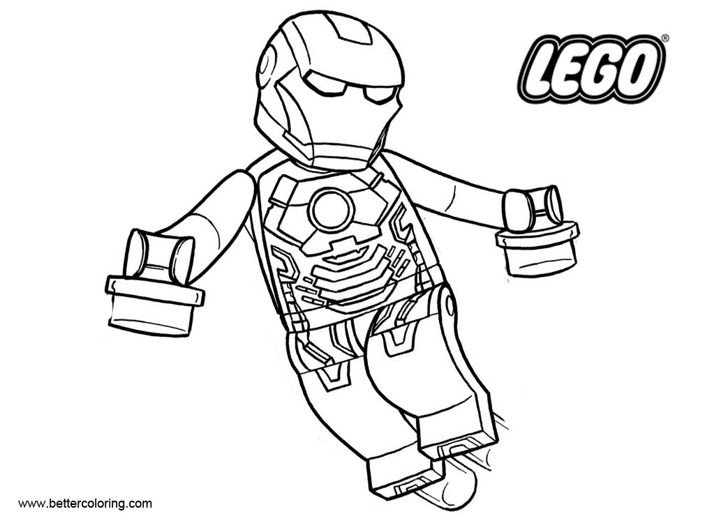iron man lego coloring pages lego iron man flying coloring page free printable man coloring lego iron pages
