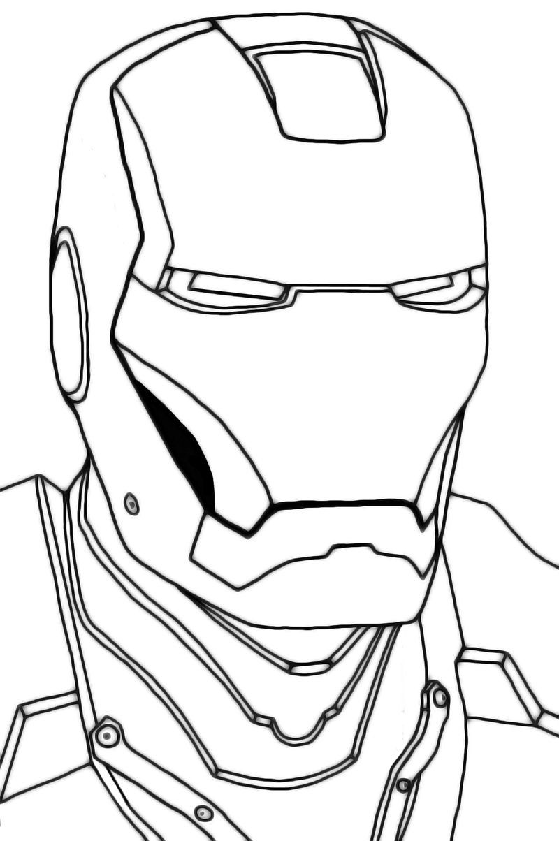iron man outline iron man line drawing at getdrawings free download outline man iron