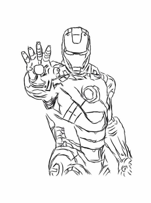 iron man outline iron man outline drawing at getdrawings free download outline iron man