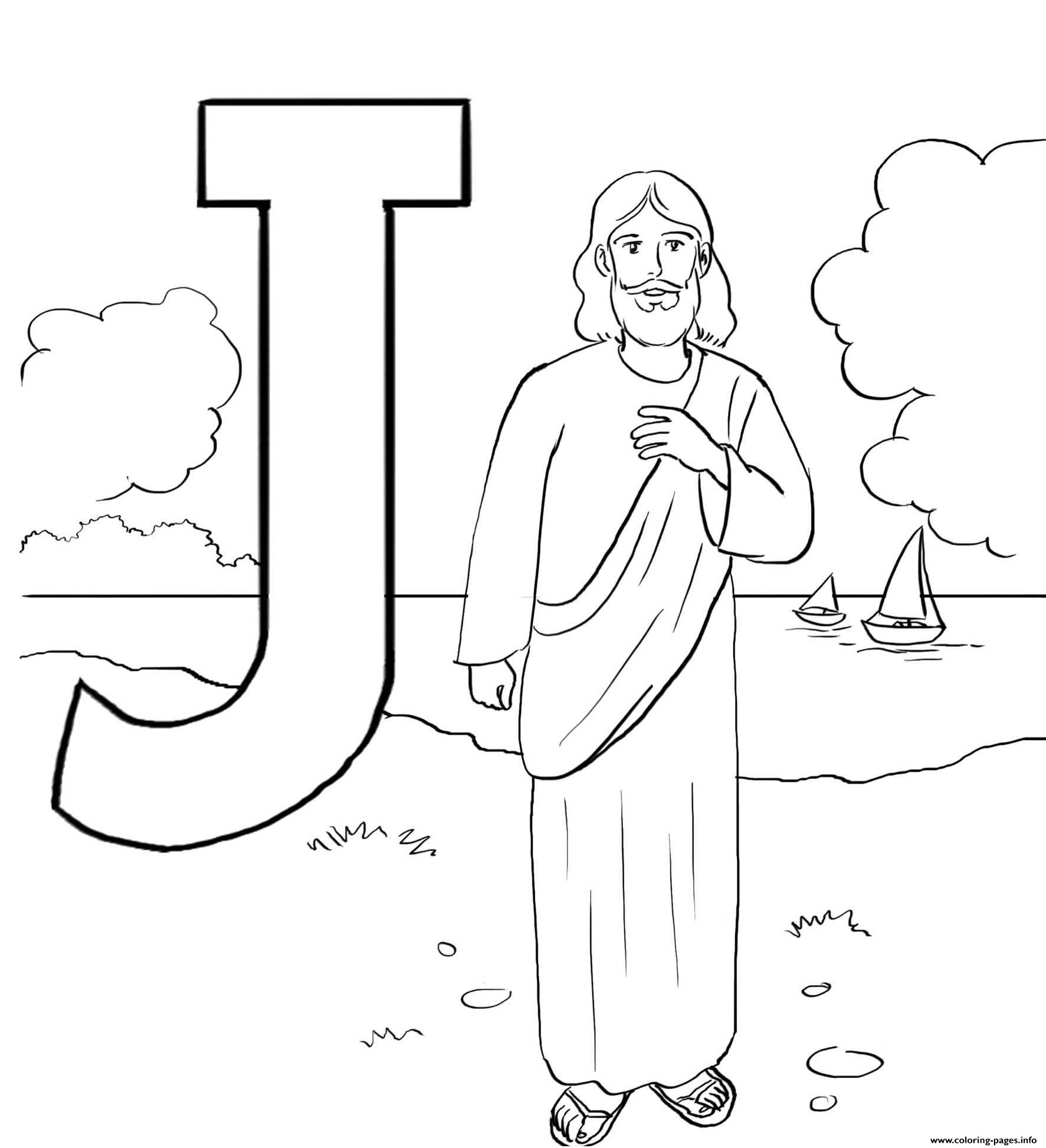 j is for jesus coloring page free nativity prek pack j is for coloring jesus page