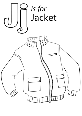 j is for jesus coloring page letter j is for jacket coloring page from letter j j coloring is page for jesus
