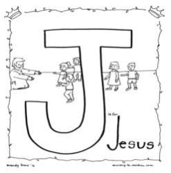 j is for jesus coloring page printables catholicbraincom is j page jesus for coloring