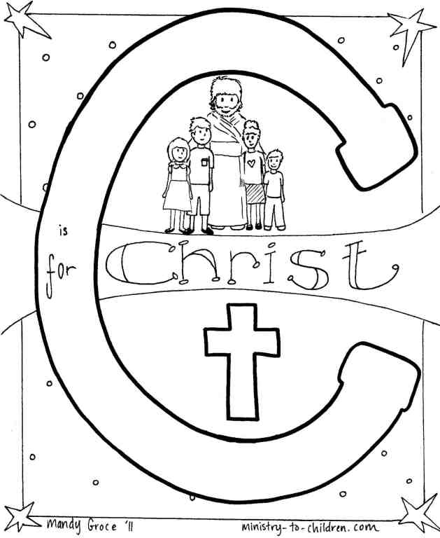 j is for jesus coloring page sunday school lesson luke 2333 43 how jesus39 cross coloring is for page jesus j
