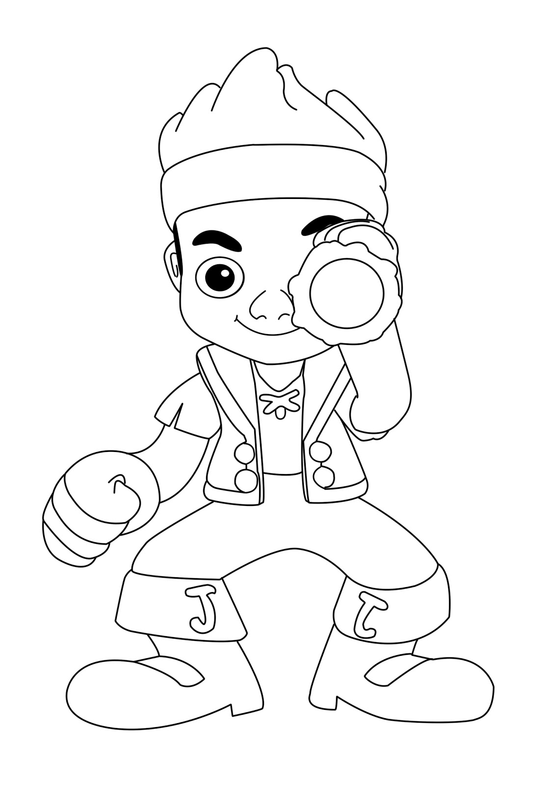 jake and the neverland pirates coloring page coloring pages for captain jake and the neverland pirates jake and neverland the page pirates coloring
