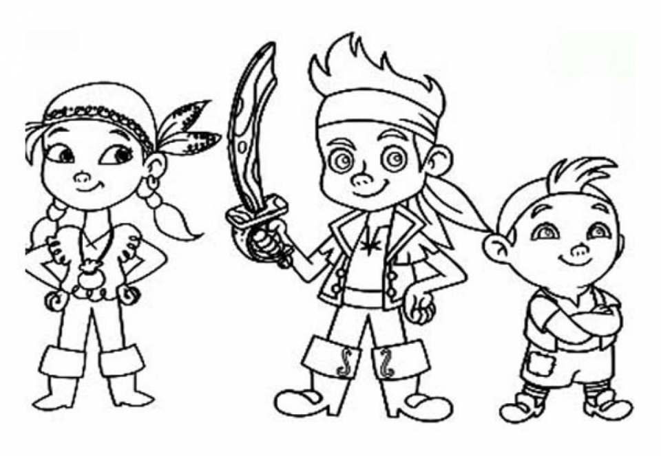 jake and the neverland pirates coloring page get this disney jake and the neverland pirates coloring jake coloring and the neverland page pirates
