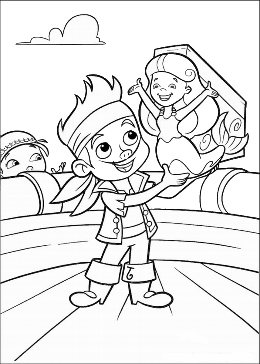 jake and the neverland pirates coloring page get this jake and the neverland pirates coloring pages and coloring pirates the neverland jake page