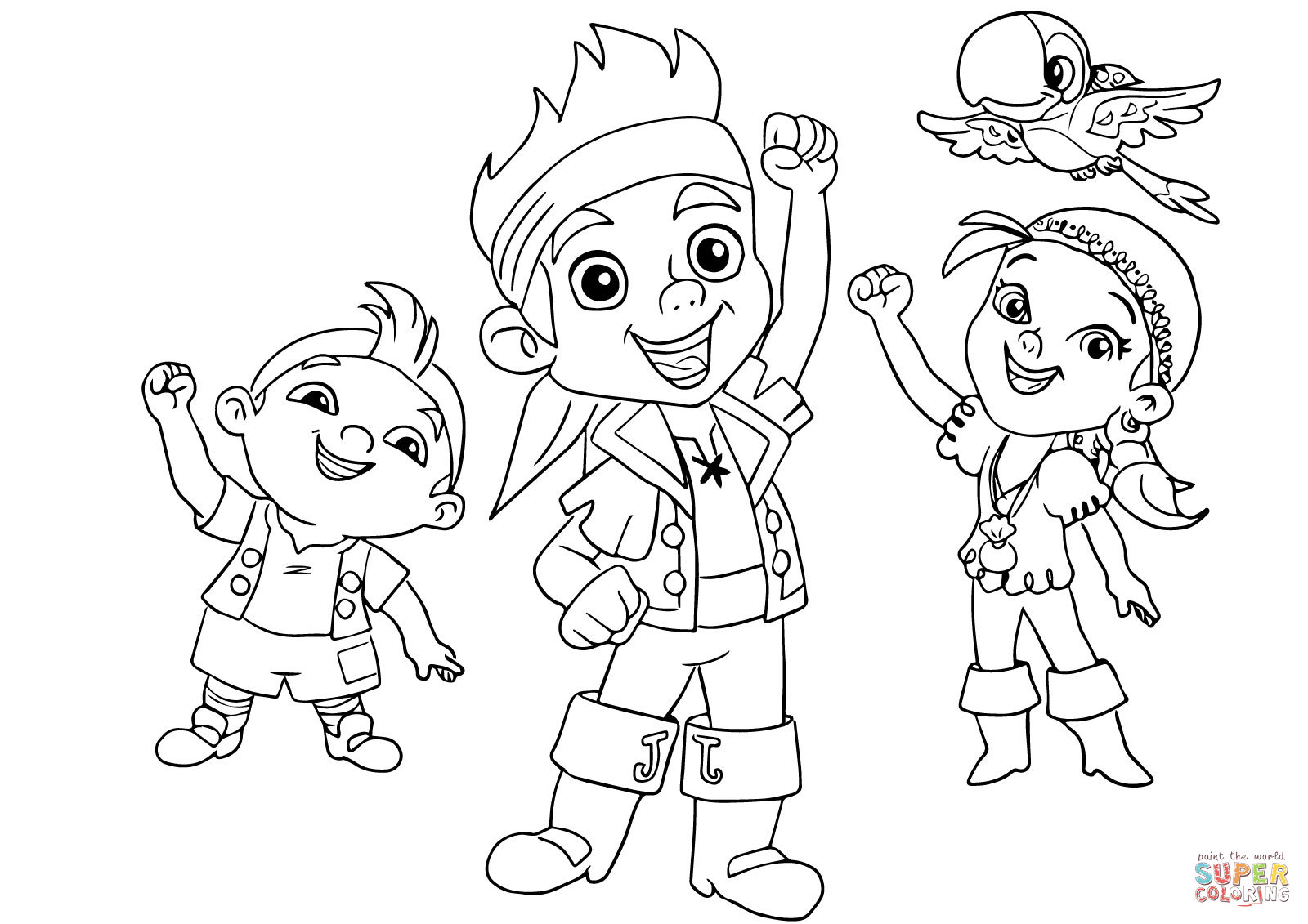 jake and the neverland pirates coloring page jake and the neverland pirates coloring pages the page jake and neverland pirates coloring