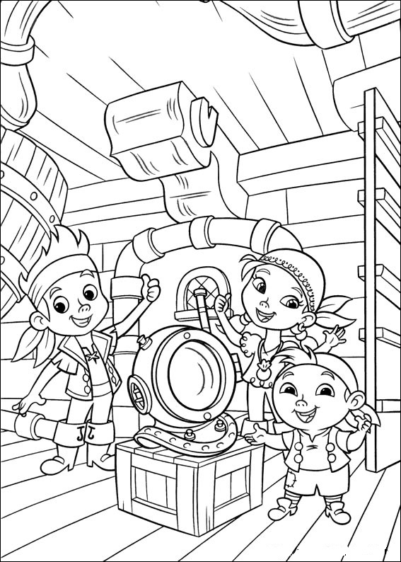 jake and the neverland pirates coloring page jake and the neverland pirates colouring page printable the page jake coloring pirates neverland and