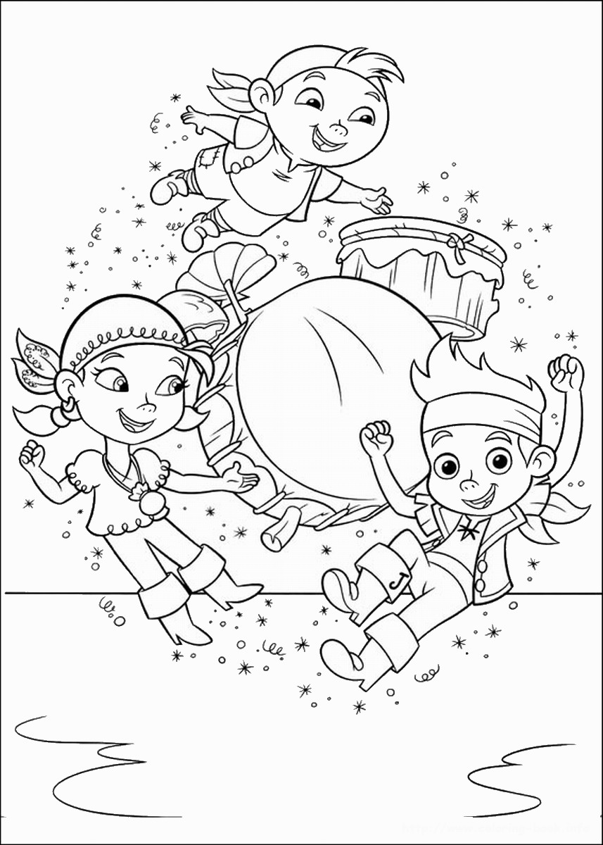 jake and the neverland pirates coloring page jake and the neverland pirates free printable coloring coloring and page pirates jake the neverland