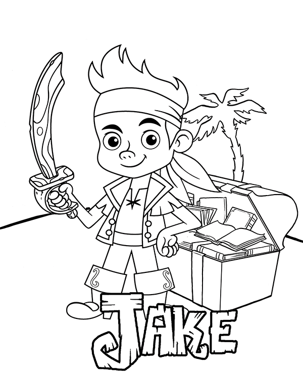 jake coloring pages coloring pages for captain jake and the neverland pirates pages jake coloring