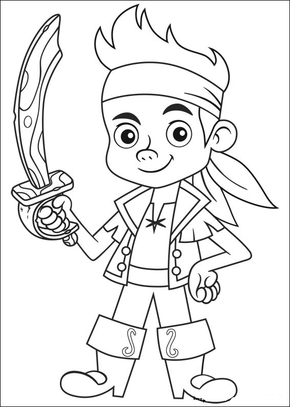 jake coloring pages jake and the neverland pirates coloring pages top jake coloring pages