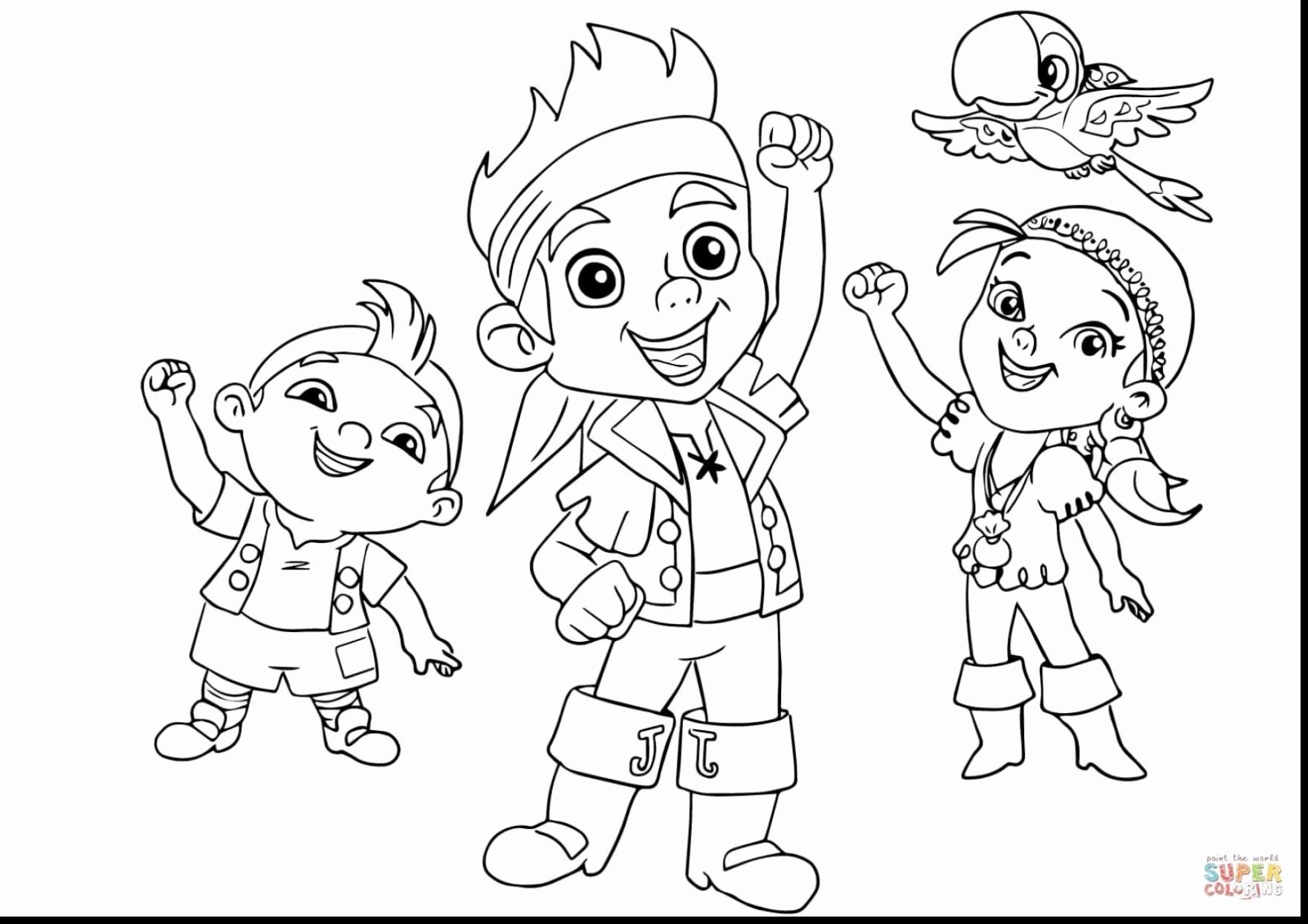 jake the pirate 28 jake and the neverland pirates coloring page in 2020 the pirate jake