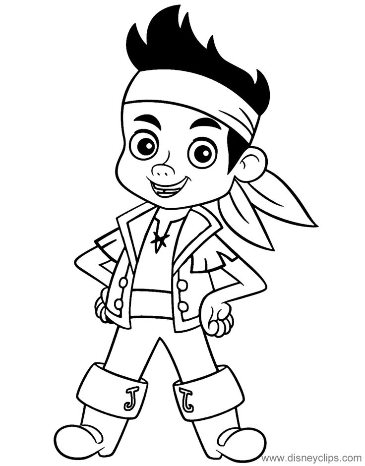 jake the pirate jake and the neverland pirates coloring page elegant jake jake pirate the