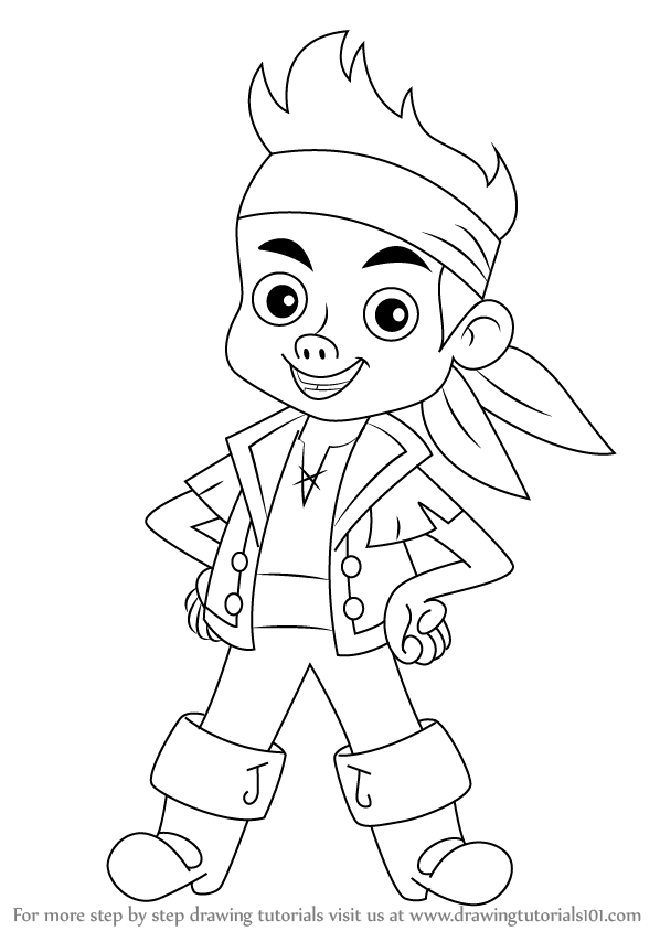jake the pirate learn how to draw jake from jake and the never land the jake pirate