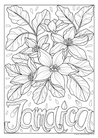 jamaica coloring pages jamaica drawing at getdrawings free download jamaica pages coloring