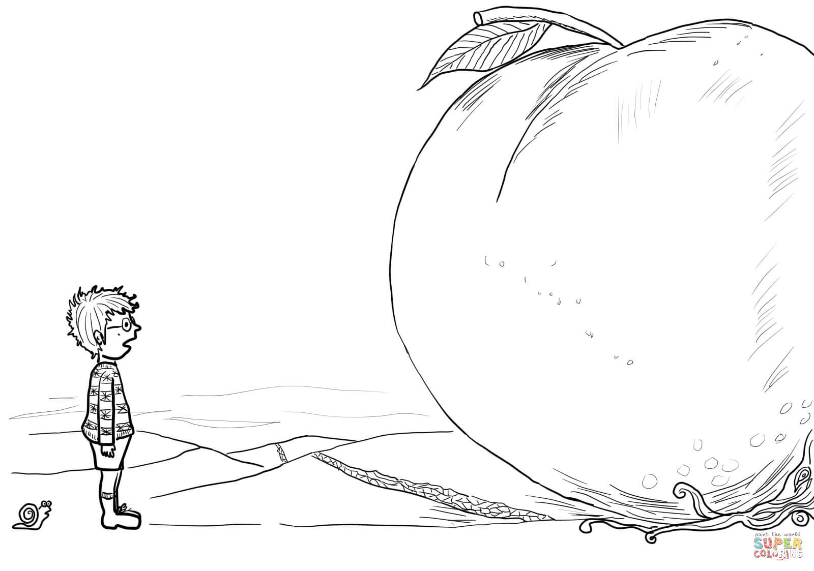 james and the giant peach coloring pages coloring pagesjames and the giant peach coloring home pages the coloring giant peach james and