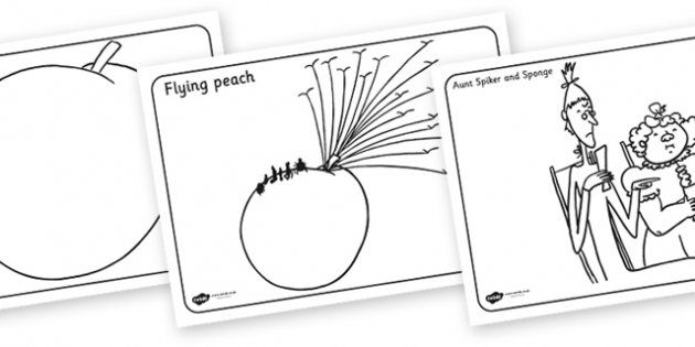 james and the giant peach coloring pages james and the giant peach drawing at getdrawings free peach pages and coloring james giant the