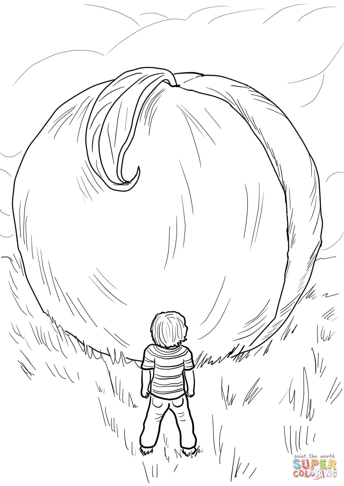 james and the giant peach coloring pages james and the giant peach free colouring pages the pages and giant coloring peach james