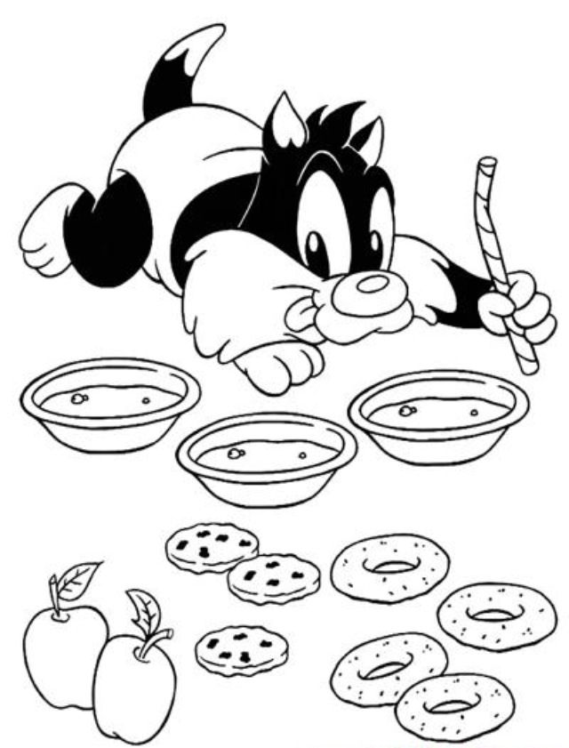 jeffree star coloring pages 107 besten sylvester the cat bilder auf pinterest star pages jeffree coloring