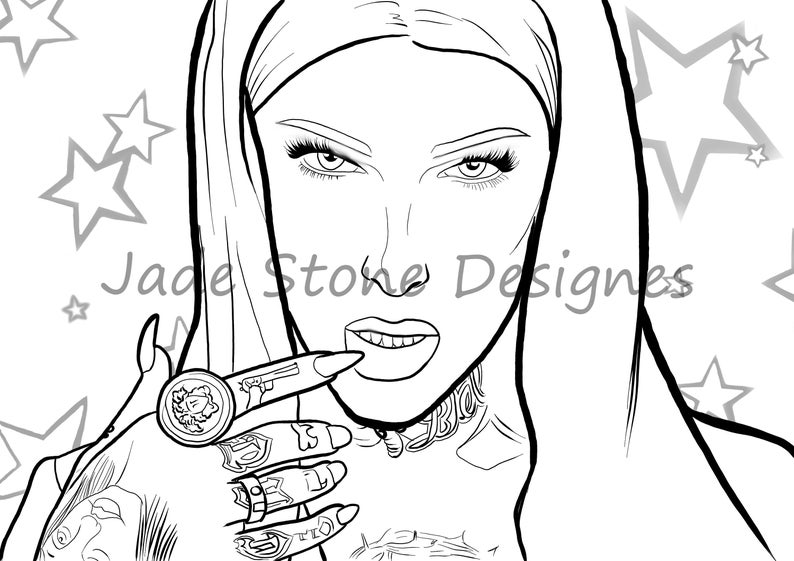 jeffree star coloring pages ideas for jeffree star coloring pages bigbrowndog star coloring jeffree pages