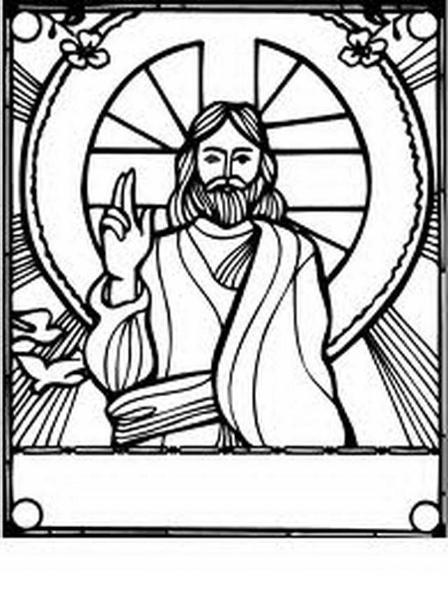 jesus coloring page jesus coloring pages for kids at getdrawings free download page coloring jesus