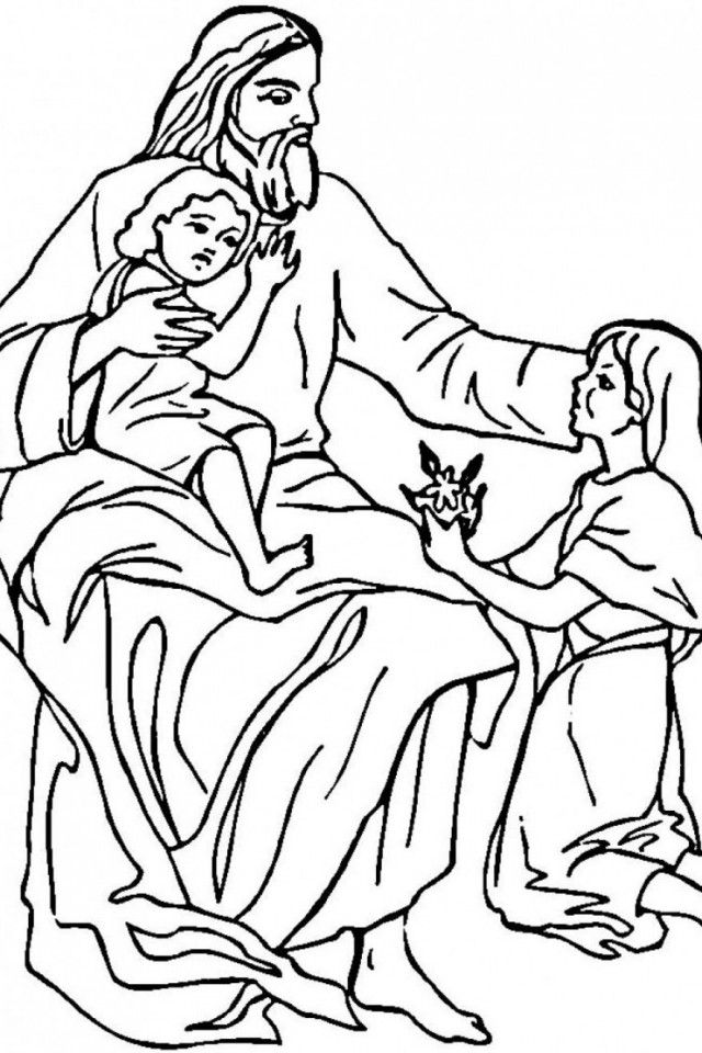 jesus coloring sheets free printable sunday school coloring pages jesus sheets coloring