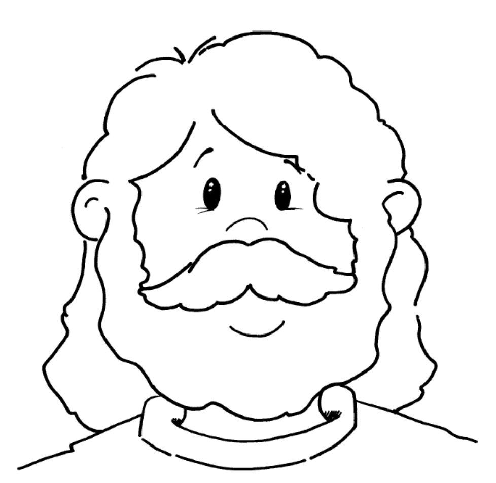 jesus face coloring page ascension of jesus christ coloring pages family holiday coloring face page jesus