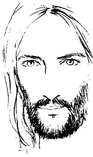 jesus face coloring page jesus christ face drawing at getdrawings free download jesus coloring page face