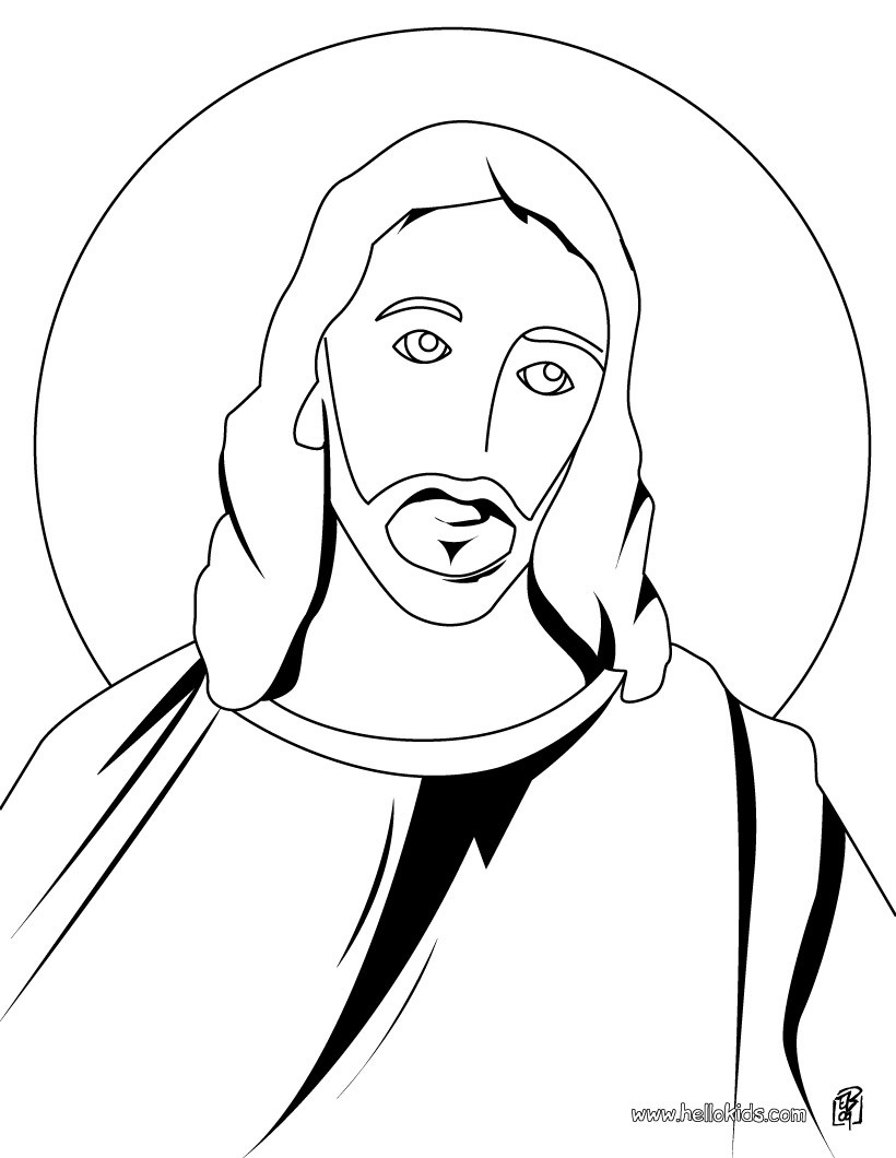 jesus face coloring page print and coloring holy face of jesus image lesson 13 face coloring jesus page