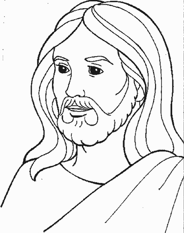 jesus face coloring page simple pencil of jesus coloring pages jesus page face coloring
