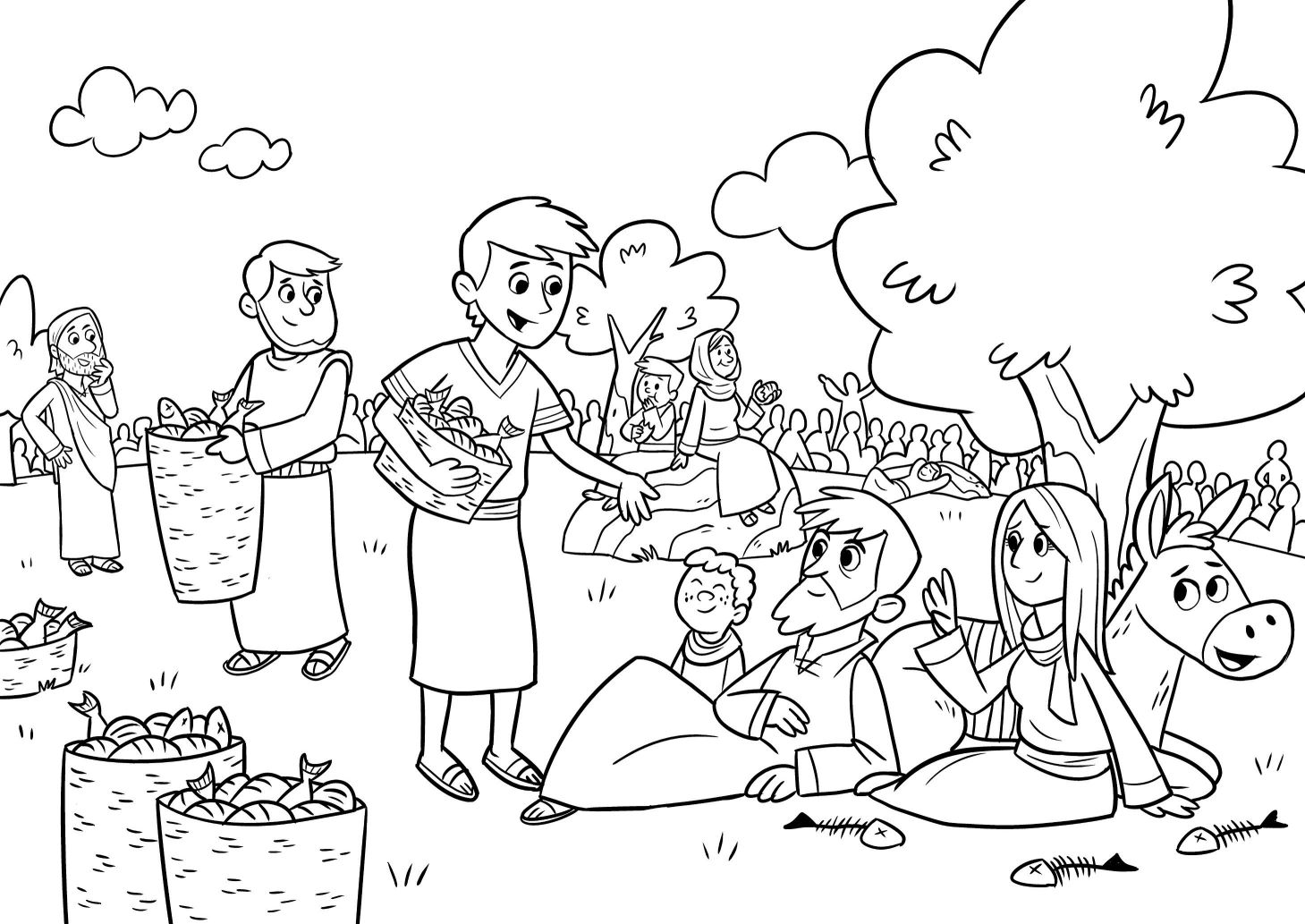 jesus feeds 5000 coloring page coloring pages jesus feeds 5000 coloring pages new 99 jesus 5000 page feeds coloring