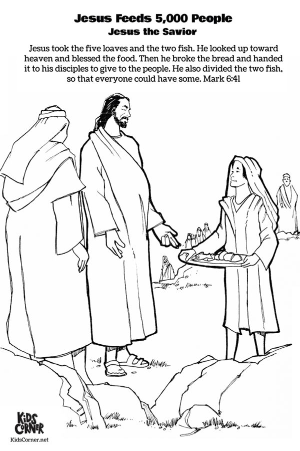 jesus feeds 5000 coloring page feeding the multitude jesus feeds 5000 coloring jesus page feeds 5000