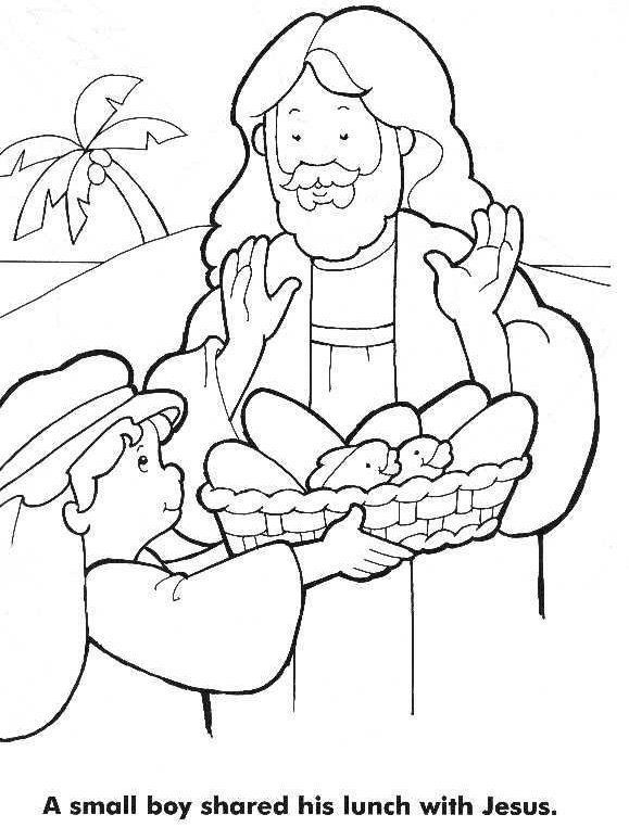 jesus feeds 5000 coloring page image result for images jesus feeds 5000 fish coloring jesus 5000 coloring feeds page