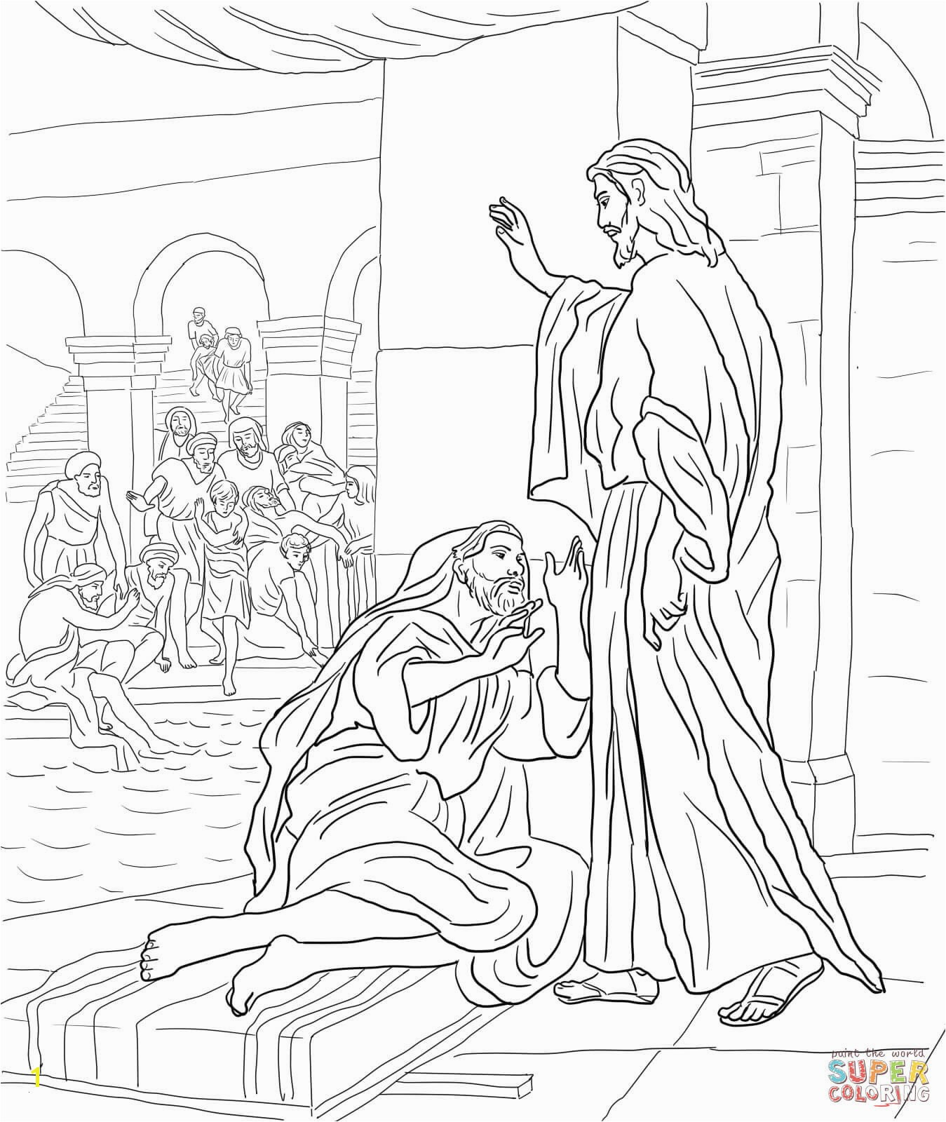 jesus heals the leper coloring page excellent photo of jesus heals the leper coloring page coloring the page jesus leper heals