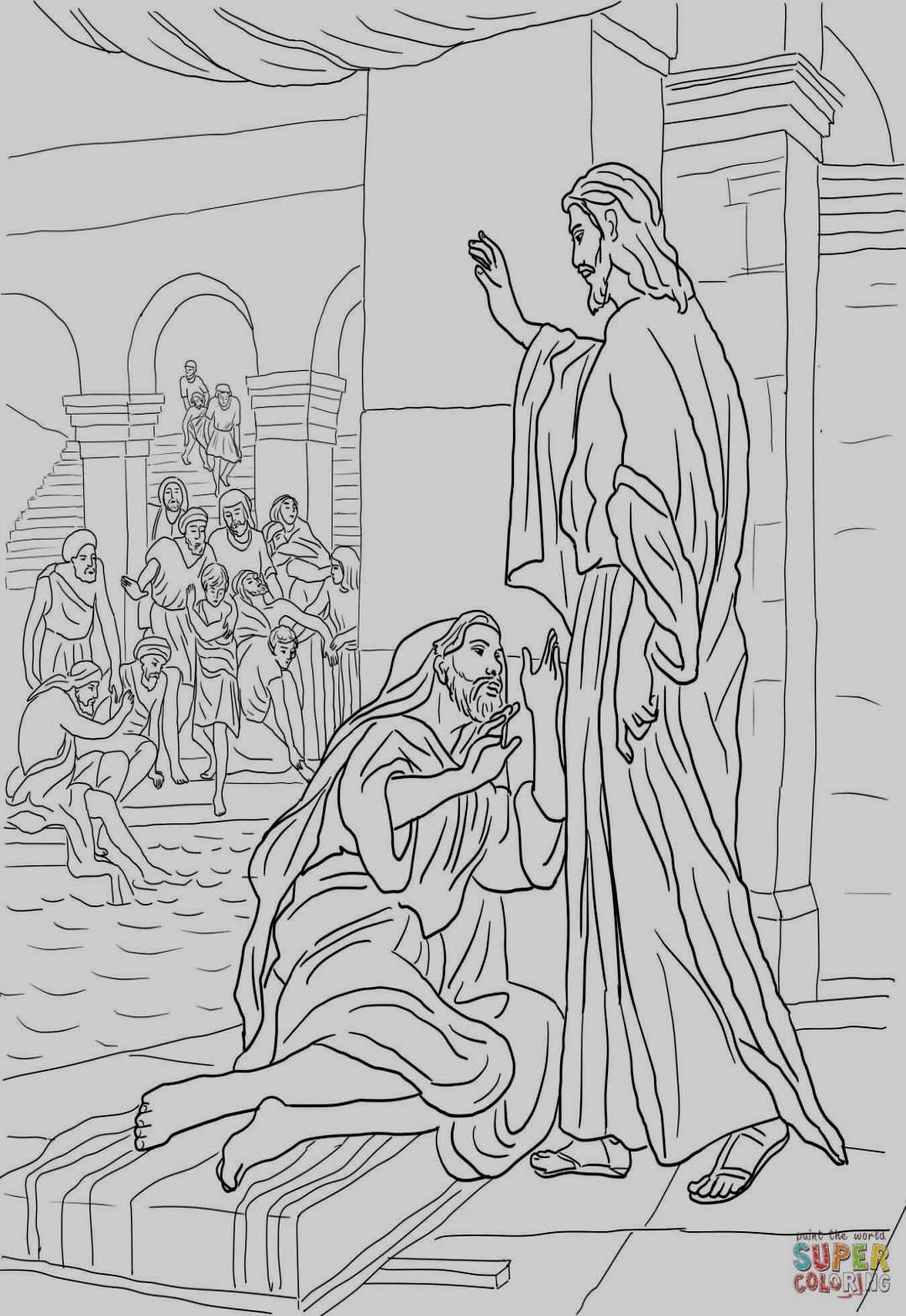 jesus heals the leper coloring page heals the sick because miracles of jesus coloring page page the coloring heals leper jesus
