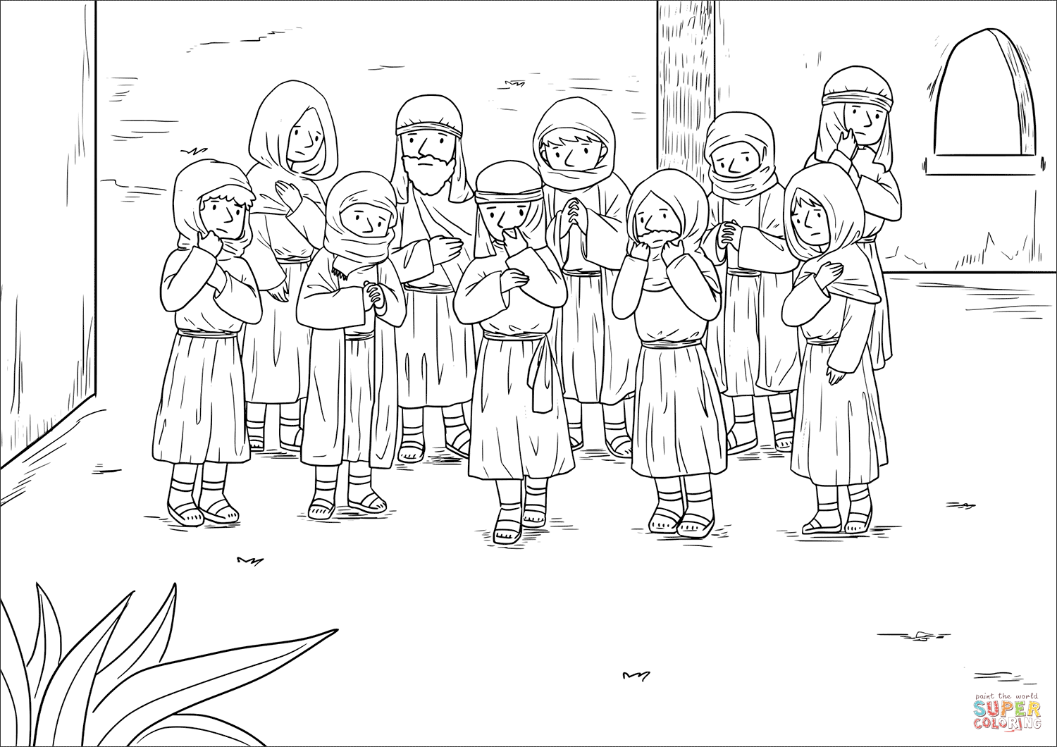 jesus heals the leper coloring page jesus heals a man with leprosy coloring page coloring pages coloring leper the heals page jesus