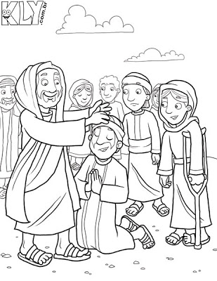 jesus heals the leper coloring page jesus heals the leper coloring page divyajananiorg leper coloring jesus the page heals