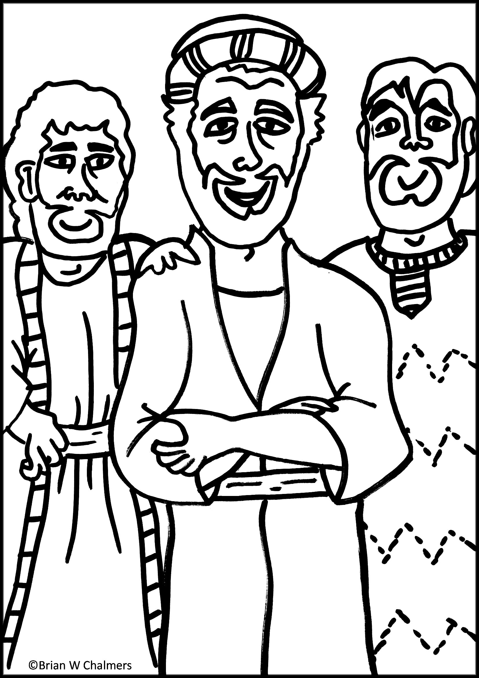 jesus heals the leper coloring page preschool coloring pages the 10 lepers  google search jesus page heals the coloring leper