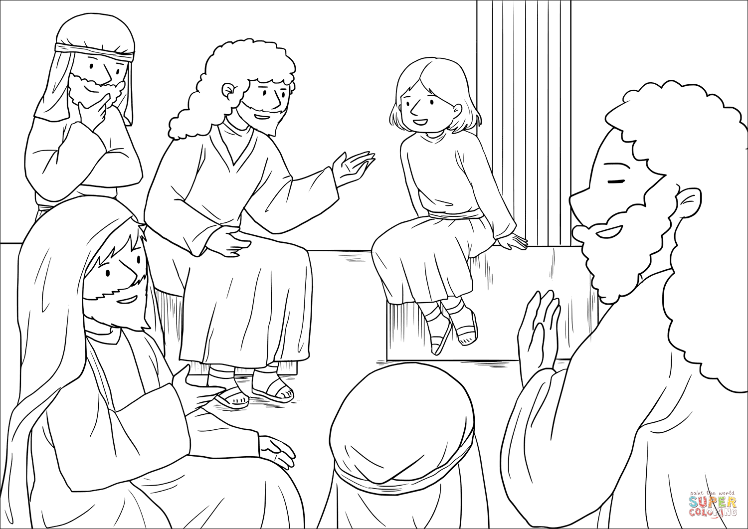 jesus in the temple coloring page jesus as a boy coloring page at getcoloringscom free page the jesus in coloring temple