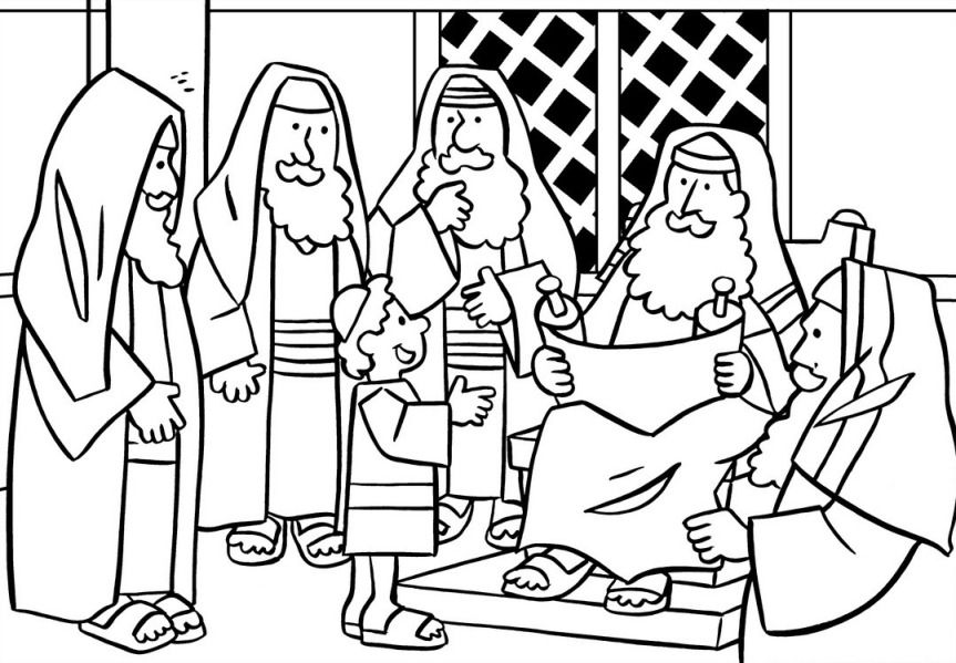 jesus in the temple coloring page jesus in the temple coloring page sunday school coloring temple in page the coloring jesus