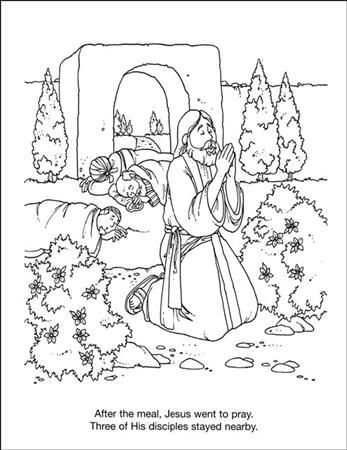 jesus praying in the garden of gethsemane coloring page bible life and times coloring pages gethsemane garden page gethsemane in of garden coloring jesus the praying