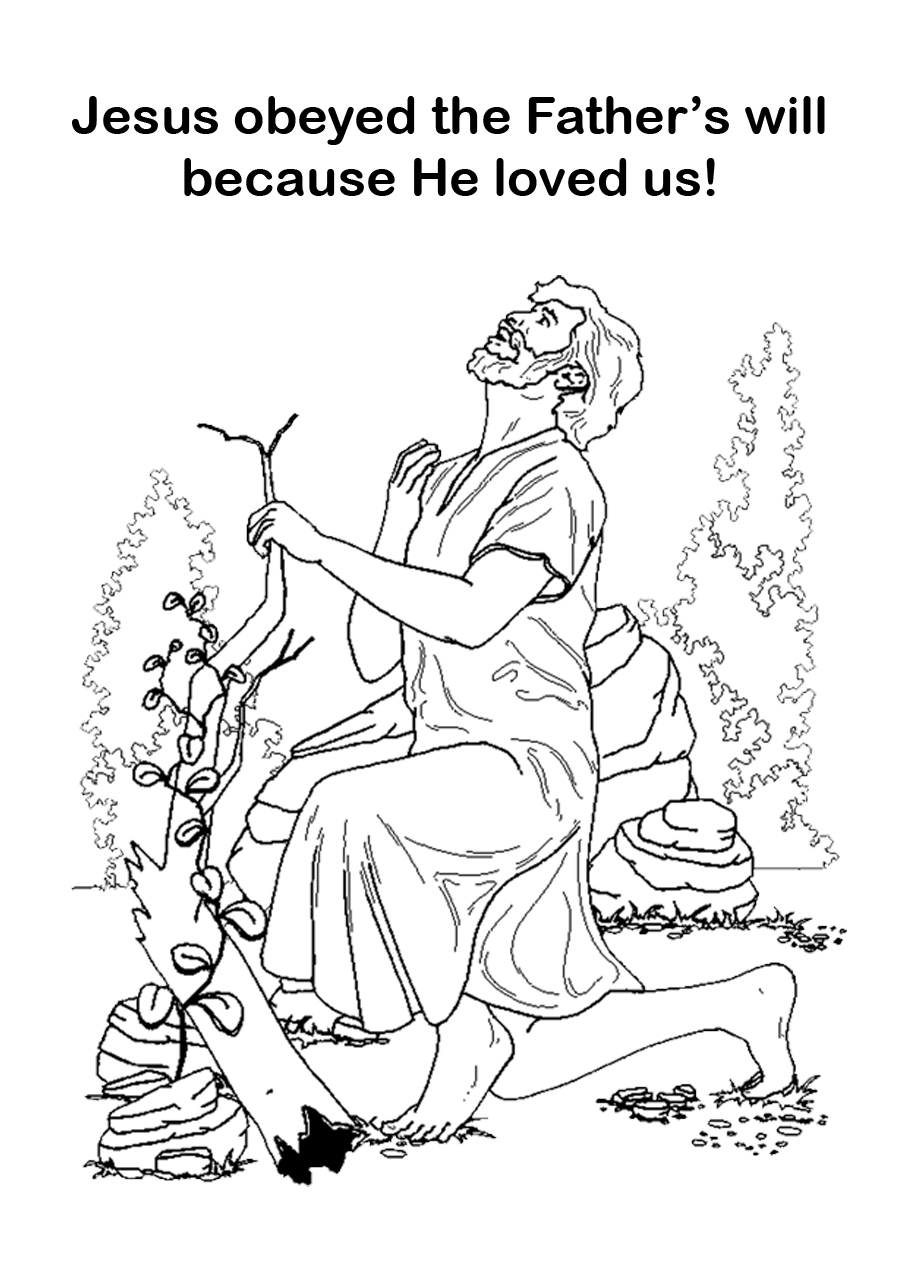 jesus praying in the garden of gethsemane coloring page robin39s great coloring pages jesus in garden of gethsemane gethsemane coloring of praying garden the in page jesus