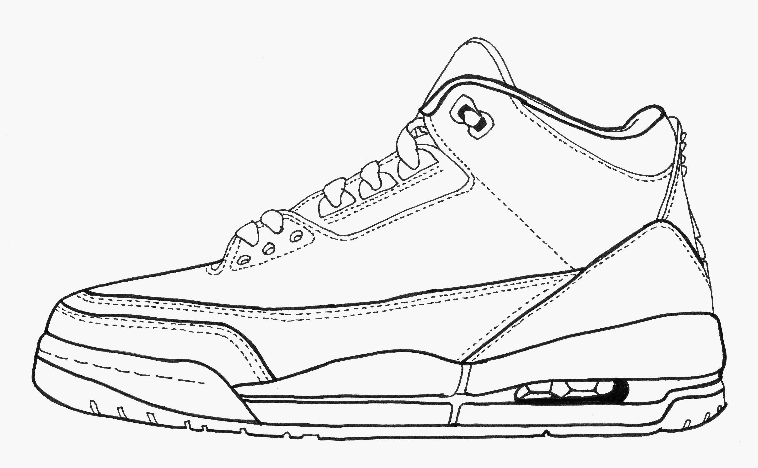 jordan coloring pages sneakers coloring pages coloring home jordan pages coloring