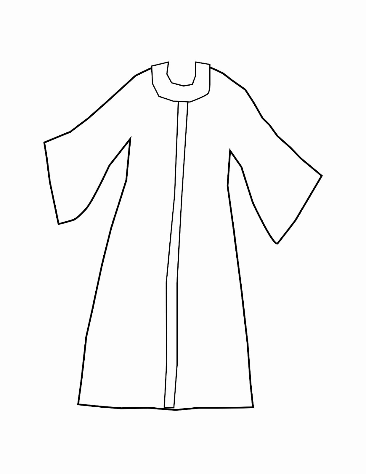 joseph coat of many colors coloring page blank template of a coat to wear joseph google search many page coat colors coloring of joseph