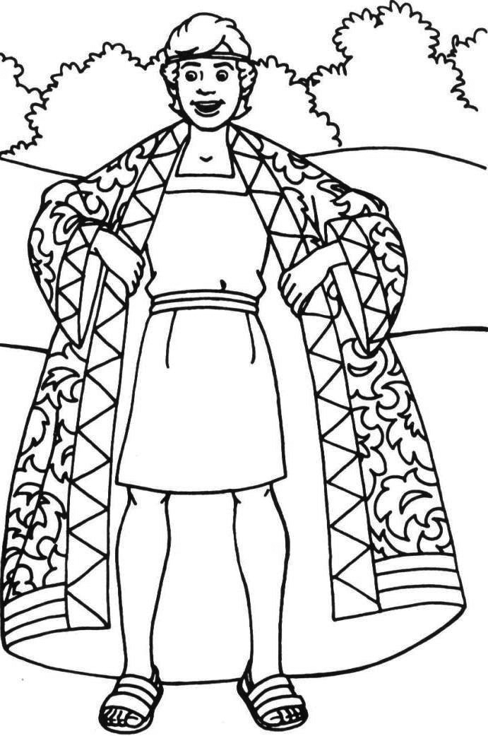 joseph coat of many colors coloring page coat of many colors coloring page luxury josephs coat many of coloring many coat joseph colors page