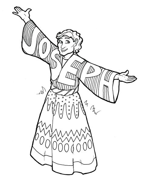 joseph coat of many colors coloring page joseph coat coloring pages joseph39s coat of many colors many coloring colors joseph of page coat