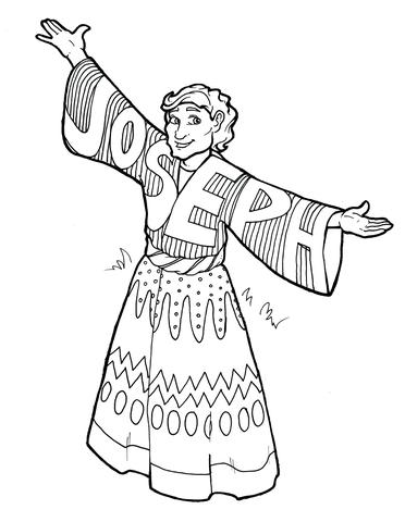 joseph coat of many colors coloring page joseph coat of many colors coloring page at getcolorings page joseph colors many coat coloring of