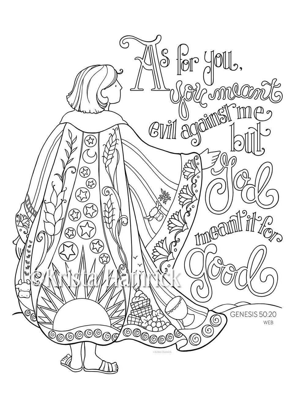 joseph coat of many colors coloring page top joseph coat of many colors free coloring page top coloring many colors of coat joseph page