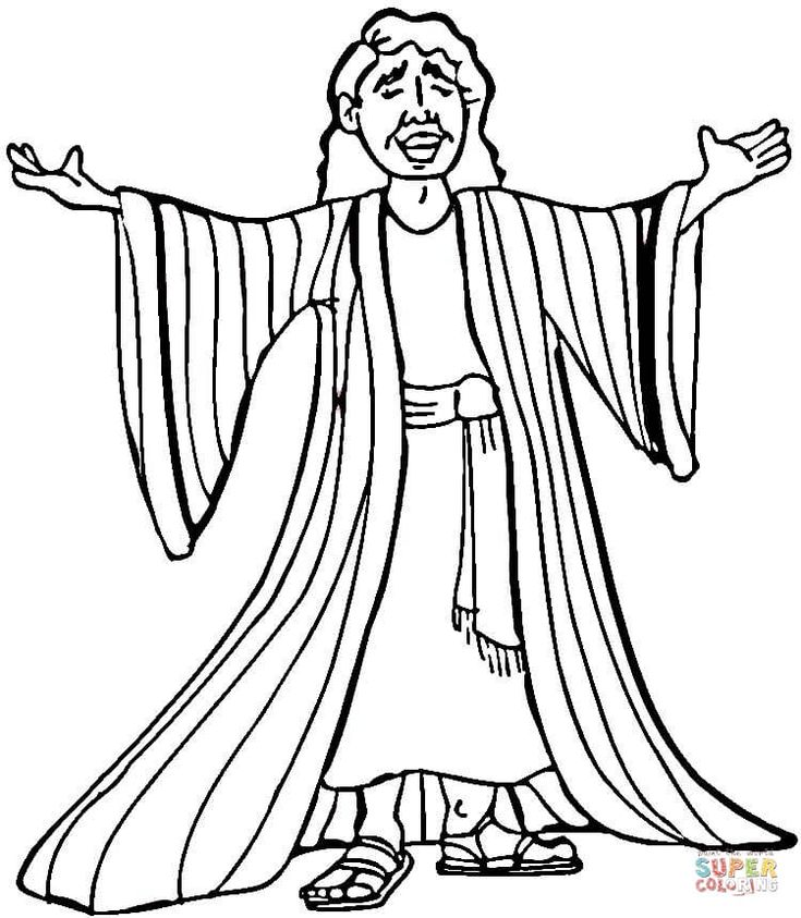 joseph coat of many colors coloring page winter coat coloring page in 2020 coat of many colors colors of many joseph page coloring coat