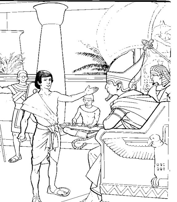 joseph shares food coloring pages miss becky39s bible blog lesson 19 god saves joseph part 2 shares coloring joseph food pages